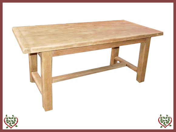 FRENCH OAK TABLE 1.8M | French Antiques