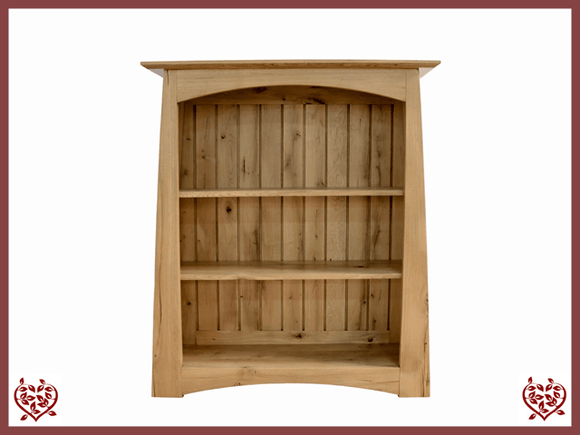 ARTISAN OAK LOW BOOKCASE Paul Martyn Furniture UK
