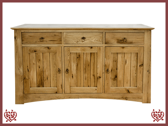 ARTISAN OAK  3 DOOR SIDEBOARD - paul-martyn-furniture