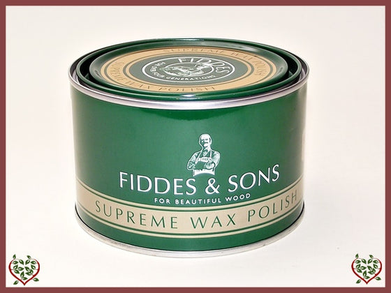 FIDDES & SONS – STRIPPED PINE WAX 400ML | Wood Care | Paul Martyn Furniture UK