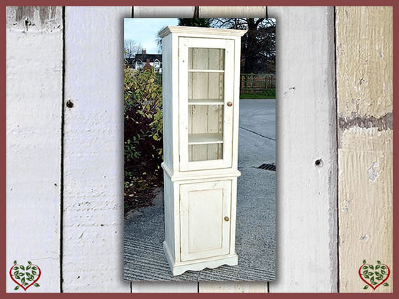 SHABBY CHIC DISPLAY CABINET | Paul Martyn Furniture UK