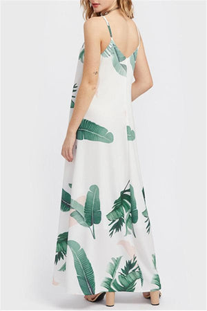Dress Pavacat California Forest Chiffon Maxi Dress