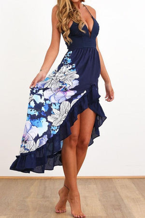 Dress Pavacat Floral Printed Braced Midi Dress