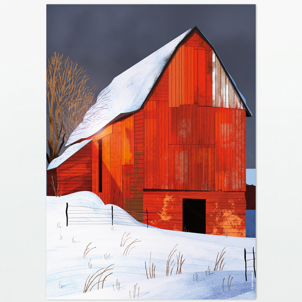 Red Barn - poster