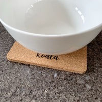 Koala pot heat mat / trivet / cork heat mat