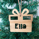 Personalised Christmas gift ornament