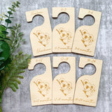 Baby / newborn timber closet dividers (Koala design)