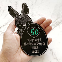 Easter countdown magnet board