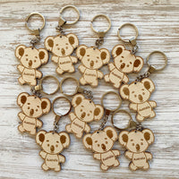 Bulk koala keyring/keychain - Personalisation available