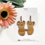 Koala couple keyrings