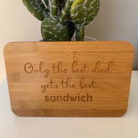 Sandwich tray - Father's Day gift idea