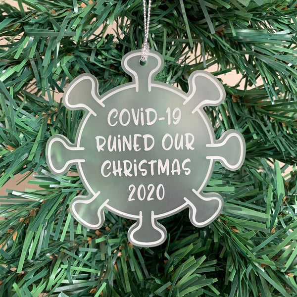 Covid-19, 2020 Christmas ornament
