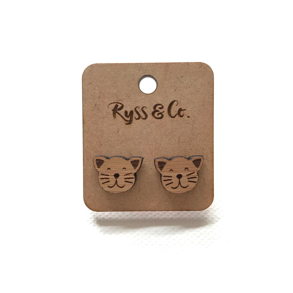 Kitty cat ear studs/earrings