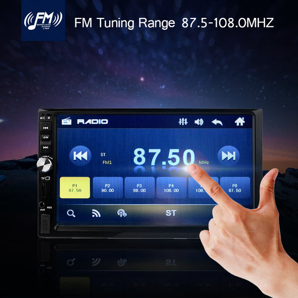 "Car Computer-MP5 Player, 7"" TFT 1080P, 12V, Parking-Aid,"