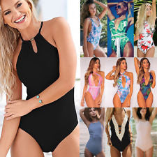 One Piece Bandage Push up Monokini Bikini Women's Swimwear Swimsuit bathing Suit,