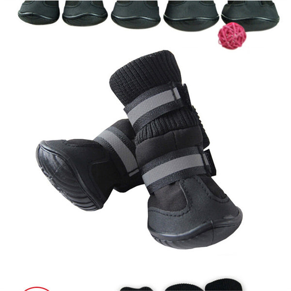 Anti Slip Pet Snow Boots Protective Shoes Dog Rain Booties