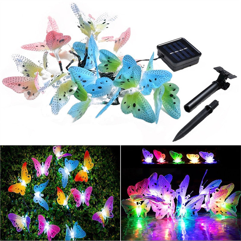 Gift-Llights,Wall LED Lights,Butterflys,Colourful-Butterfly-Lights,theblueparrotstore.com