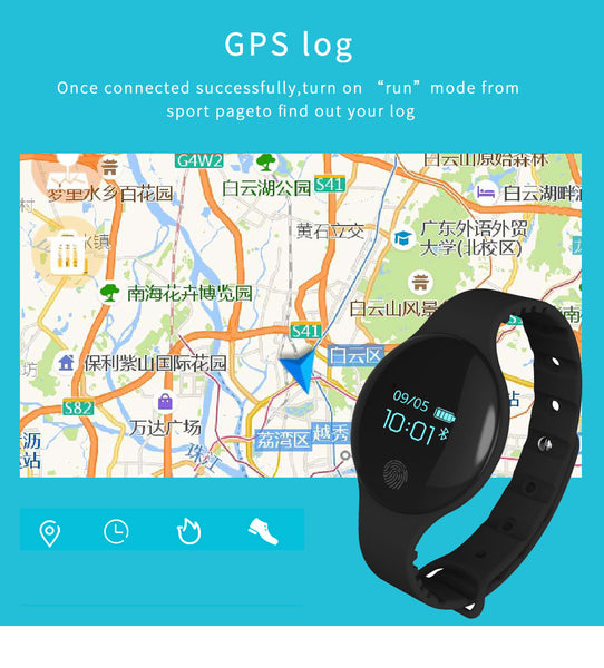 Bluetooth SmartWatch for IOS & Android, Multi-functional Monitoring, Sports & Recreation