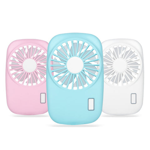 Mini-Fan, Portable handheld Fan, USB Rechargeable Battery Fan,
