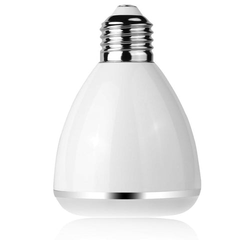 LED Light Bulb with Integrated Bluetooth 4.0 Speaker, Audio Phone Remote Control