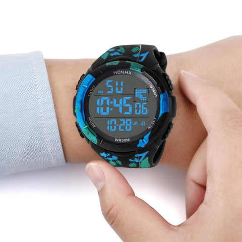 Luxury Digital Wristwatch, excellent for Sport , with LED Face, Waterproof Wrist Watch, ideal Gift