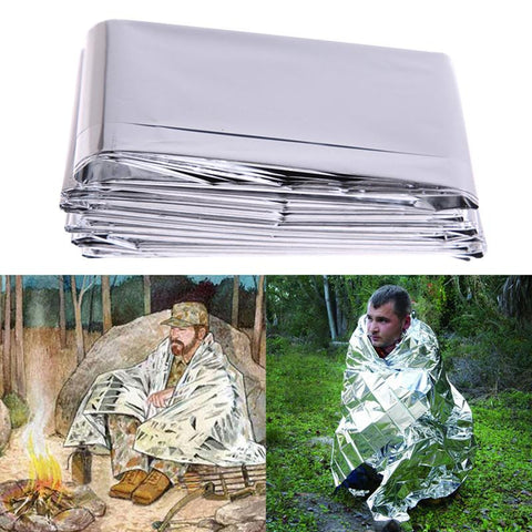 Emergency Thermal Blanket, Reflective Insulation Blanket,Lifesaving-Aids