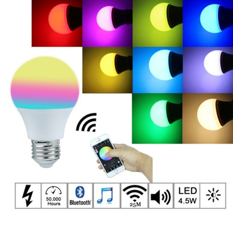 LED Magic Bulb Bluetooth 4.0