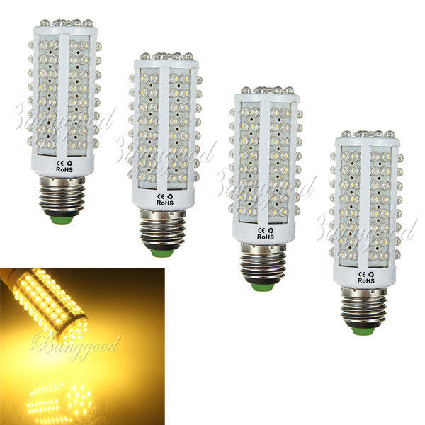 LED Bulbs E27 7W 110V 108LED LED Corn Bulb Light Lamp Warm White Light Clearance Sale