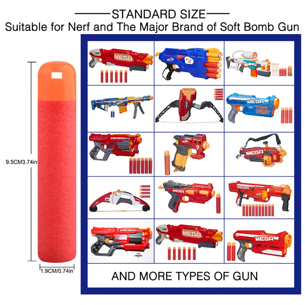 Nerf Bulletts, Nerf Rifle Cartridges, Nerf Fun, Wargames Christmas Gift