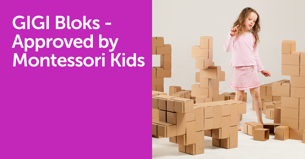 GIGI Bloks - Approved by Montessori Kids