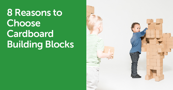 Why Cardboard Building Blocks Are to Go for?