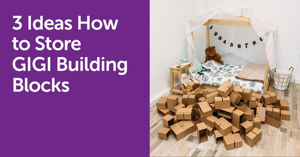3 Ways How to Store GIGI Building Blocks