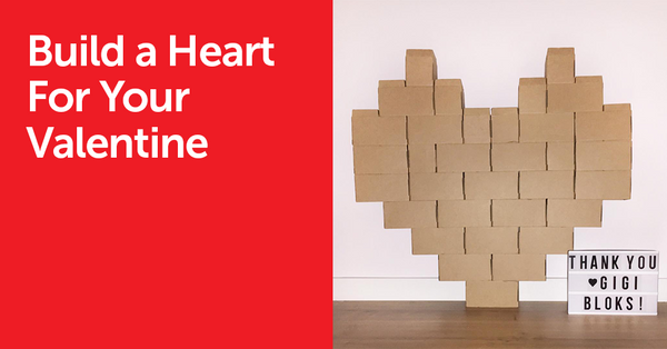 Build a Heart For This Valentine's Day