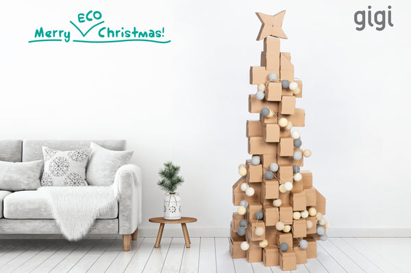 Have Some Alternative Christmas Fun With the Kids by Creating a Christmas Tree Made from building blocks