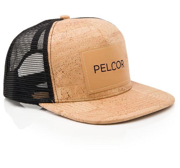 Pelcor Cap with Logo Black