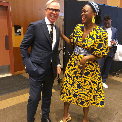 Fashion Designers Tommy Hilfiger and Autumn Adeigbo