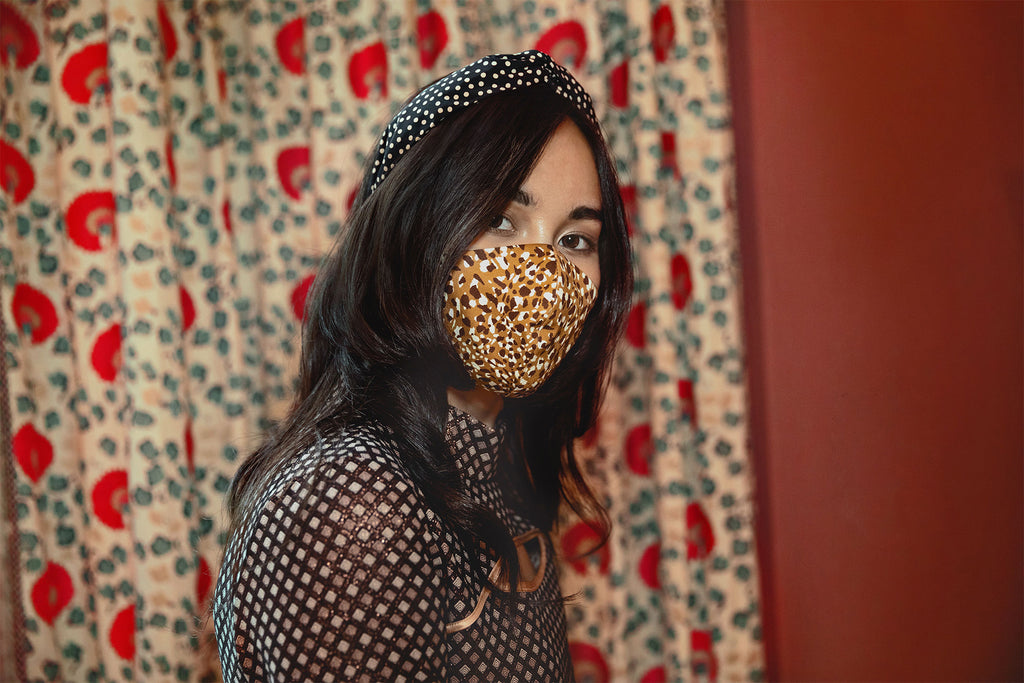 Smoke Mini Polka Dot Headband