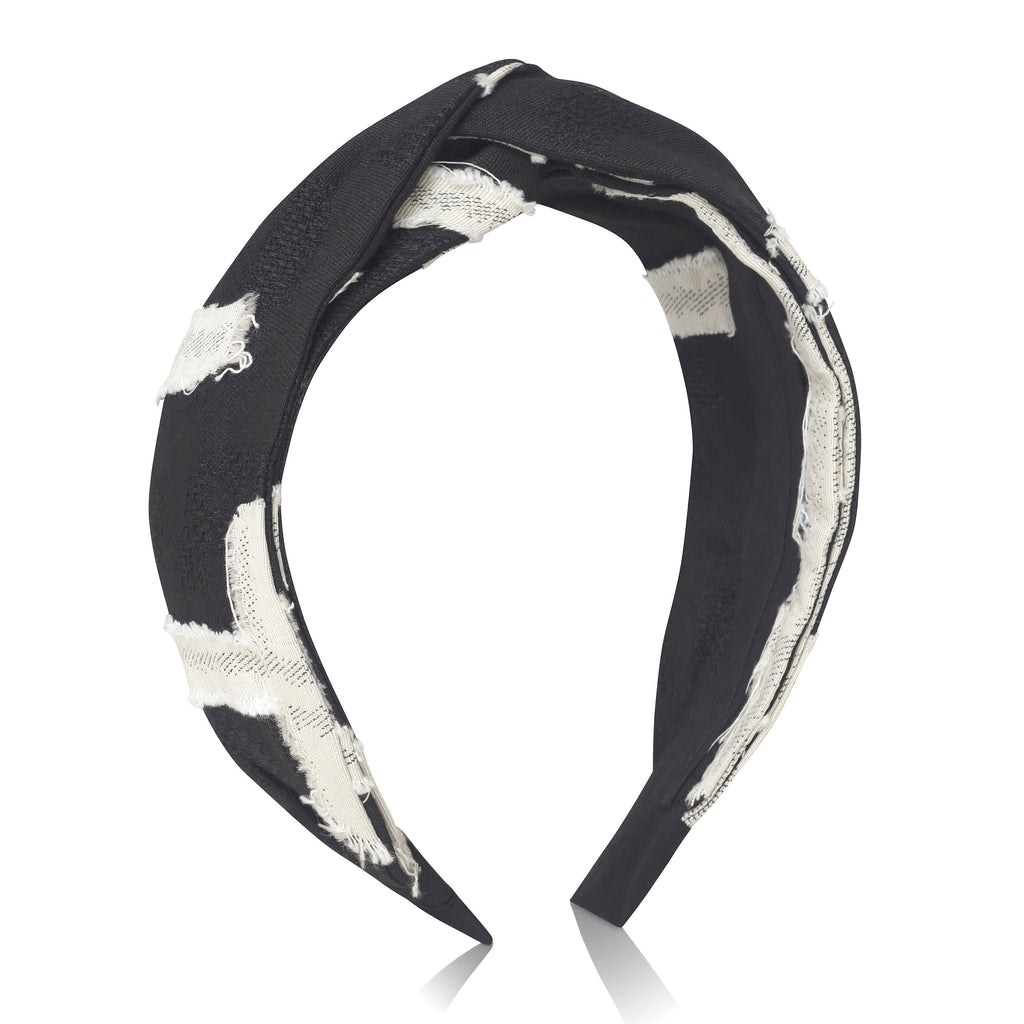 Contrast Textured Headband
