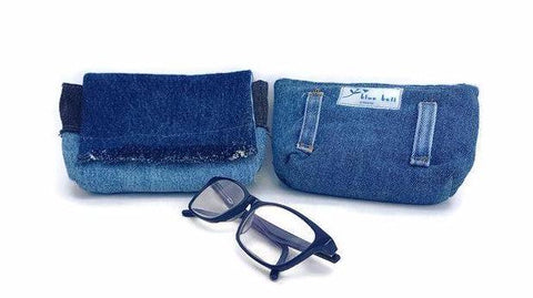 Eyeglass Pouch with Belt Loops