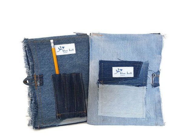 Denim Covered Notepad