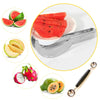 Image of Stainless Steel Expert Chef Watermelon Slicer & Melon Ball Scoop