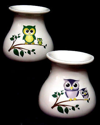 Owls Bone China Oil Burner idealfor wax melts, essential oils or  yankee tarts.