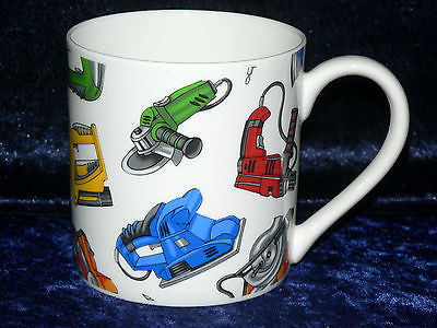 Power tools 1 pint bone china mug  diff all round
