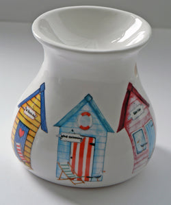 Beach Hut China Oil Burner for wax melts, essential oils or yankee tarts