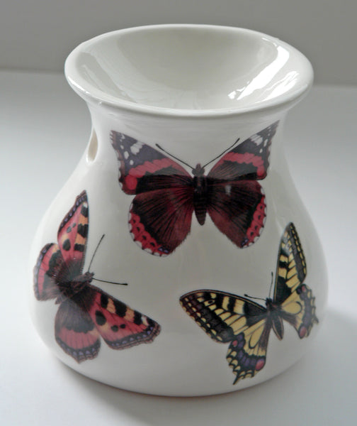 Butterfly China Oil Burner for wax melts, essential oils or yankee tarts