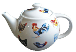 One cup teapot chicken design, holds just 1 cup of tea perfect for one person