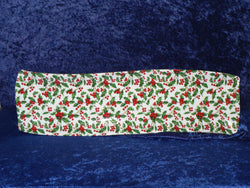 Holly Chintz tapas tray - Long narrow tray ideal for tappas, french bread baguettes decorated with colourful holly design