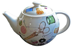 One cup teapot sewing design, holds just 1 cup of tea perfect for one person