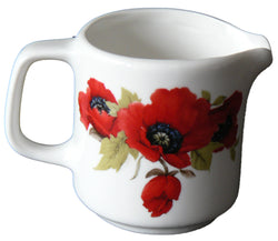 Poppy milk/cream  jug Medium 7oz size