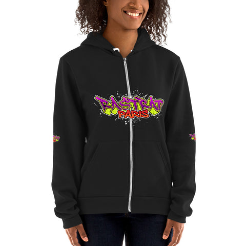 Rastrap Flex Fleece Zip Hoodie ( American Apparel F497W )